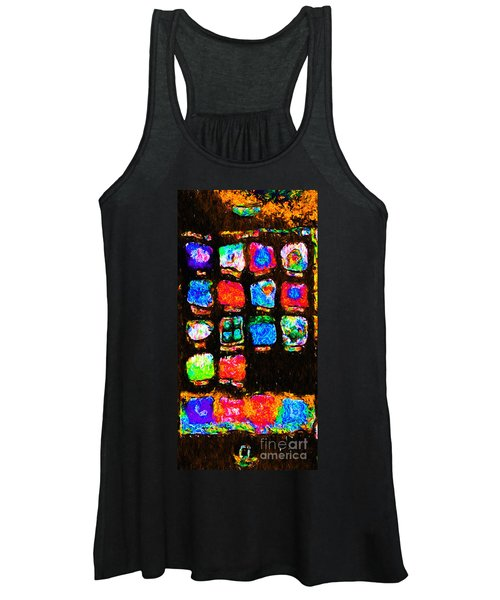 Iphone In Abstract Women's Tank Top