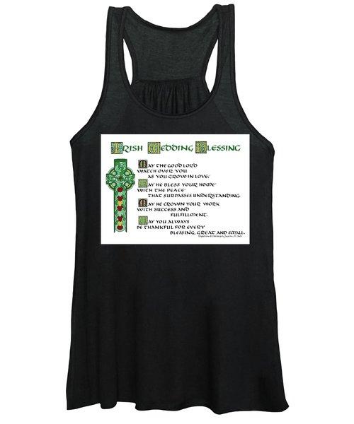 Irish Celtic Wedding Blessing Women's Tank Top