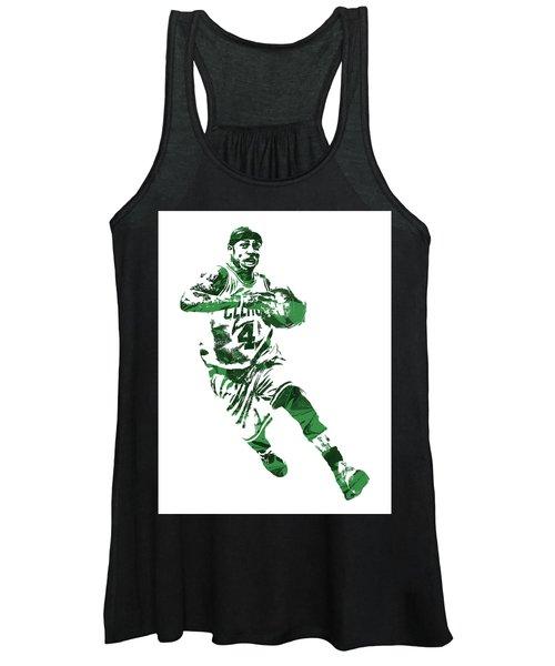 Isaiah Thomas Boston Celtics Pixel Art 5 Women's Tank Top