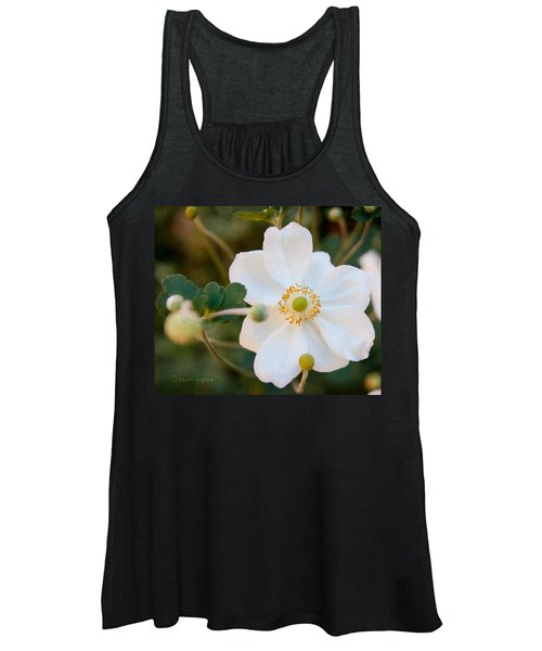 Japanese Anemone Women's Tank Top