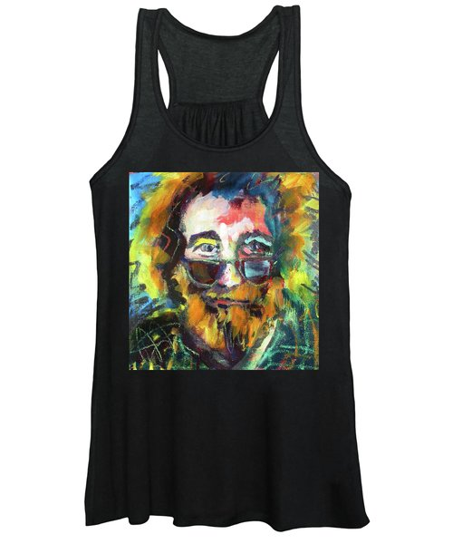 Jerry Garcia Women's Tank Top
