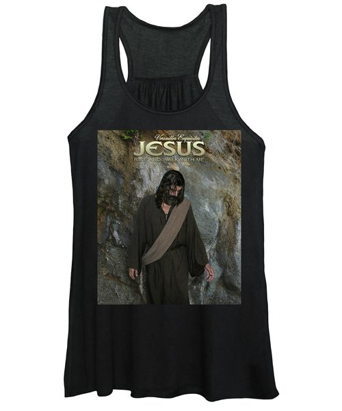 Jesus Christ- Rise And Walk With Me Women's Tank Top