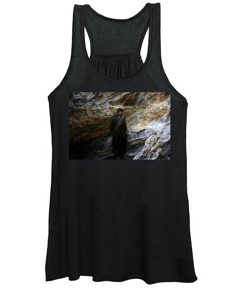 Jesus Christ- The Lord Is My Light And My Salvation Women's Tank Top