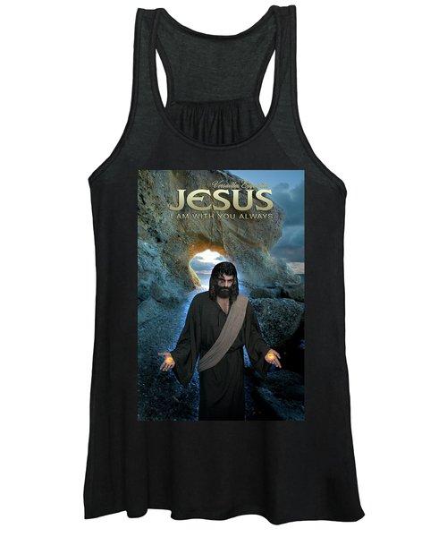 Jesus- I Am With You Always Women's Tank Top