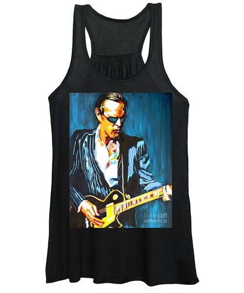 Joe Bonamassa. Hummingbird Women's Tank Top