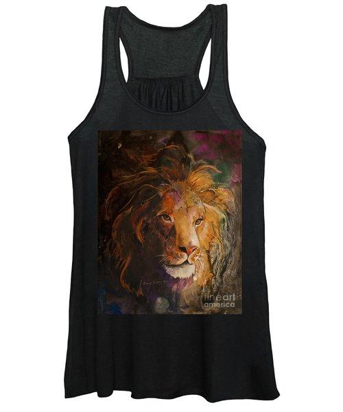 Jungle Lion Women's Tank Top