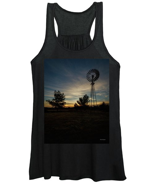 Just Before Sunrise Women's Tank Top