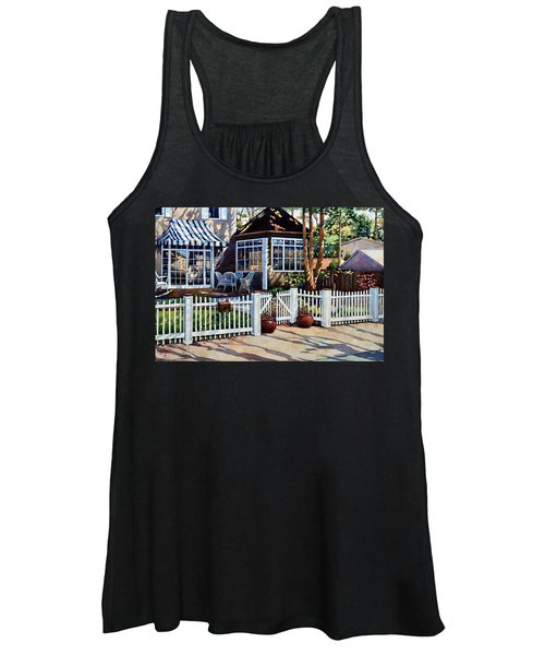 Just Beyond The Pickets Women's Tank Top