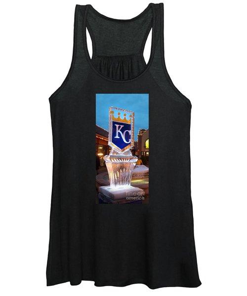 Kansas City Royals Championship In Ice Women's Tank Top