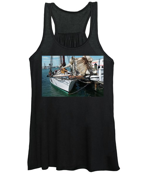 Key West Appledore Sailboat Women's Tank Top