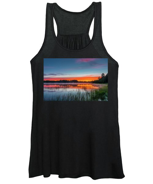 Kingston Lake Sunset Women's Tank Top