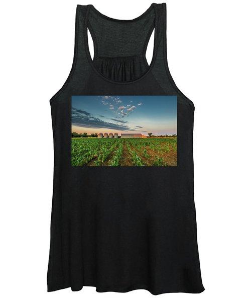 Knee High Sweet Corn Women's Tank Top