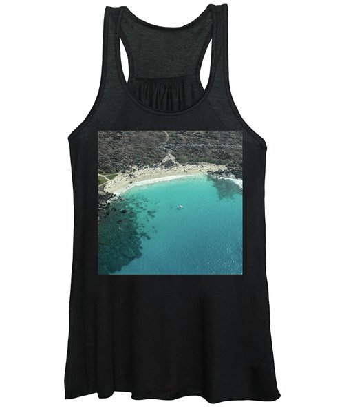 Kua Bay Aerial Women's Tank Top