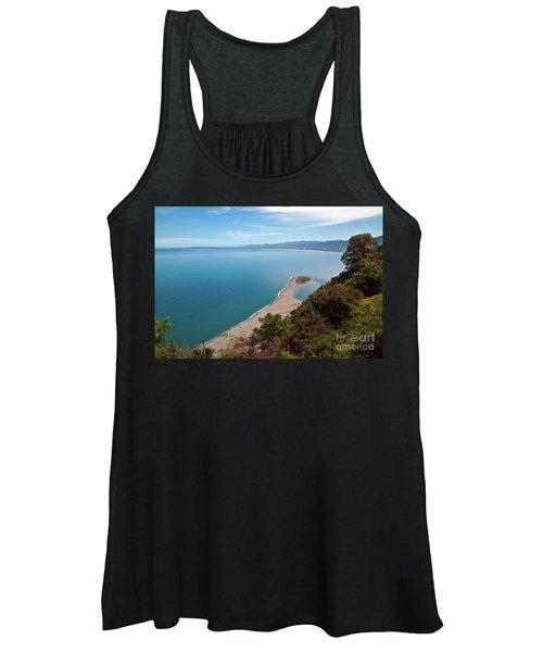 Lagoon Of Tindari On The Isle Of Sicily  Women's Tank Top