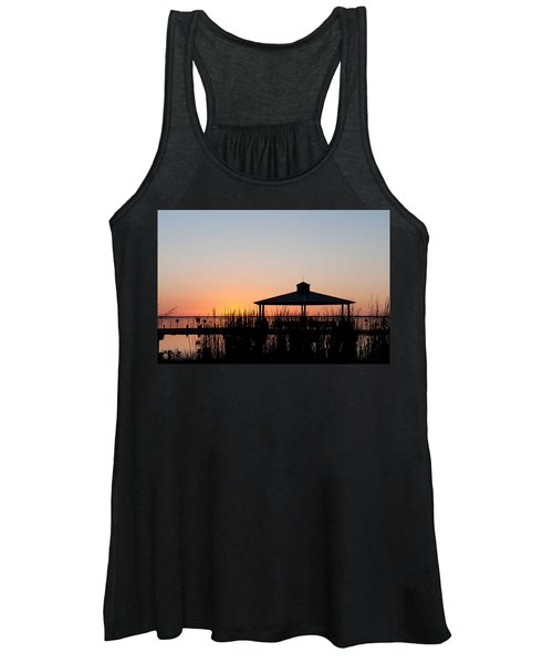 Lake Eustis Sunset Women's Tank Top