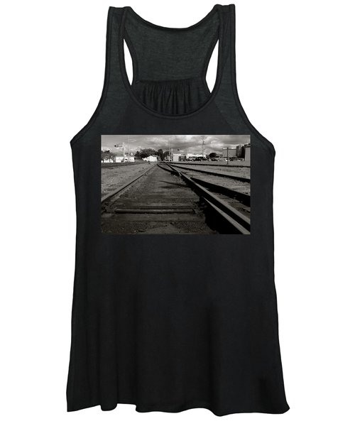 Last Train Track Out Women's Tank Top