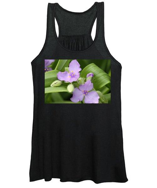 Lavender Blooms In Spring Women's Tank Top