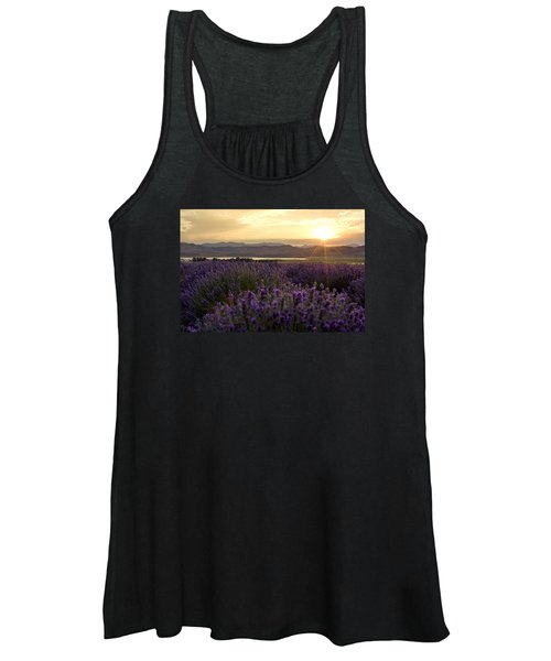 Lavender Glow Women's Tank Top