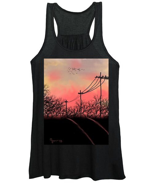 Leaving Home Women's Tank Top