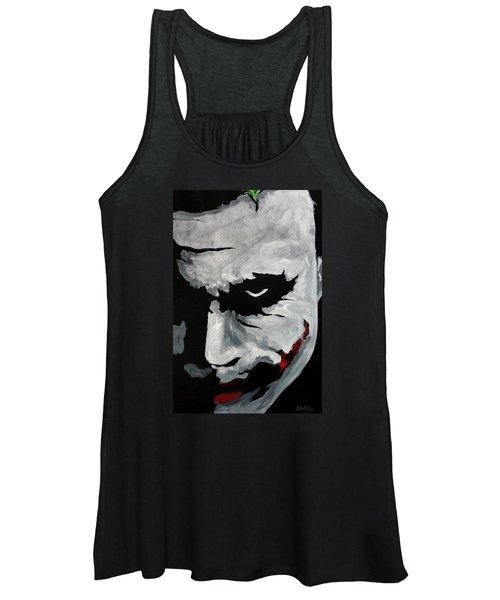 Ledger's Joker Women's Tank Top
