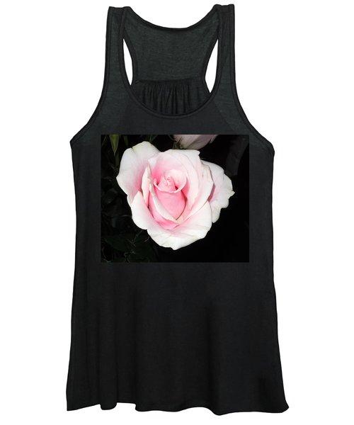 Light Pink Rose Women's Tank Top