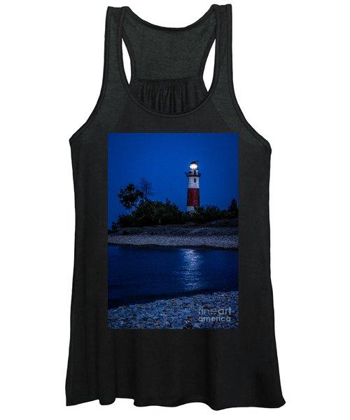Lighthouse Reflection Women's Tank Top