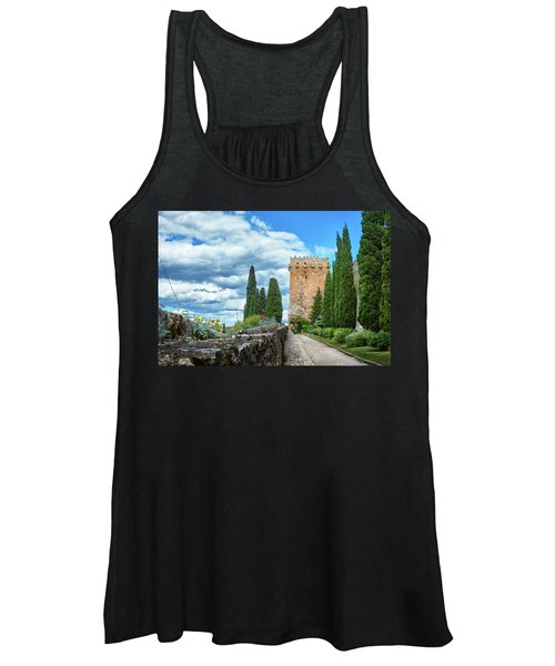 Like A Fortress In The Sky Women's Tank Top