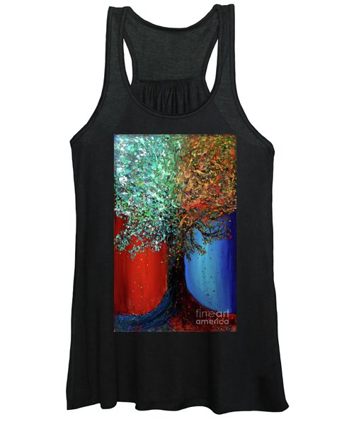 Like The Changes Of The Seasons Women's Tank Top