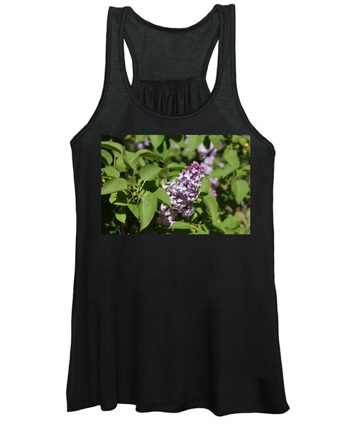 Women's Tank Top featuring the photograph Lilacs 5551 by Antonio Romero