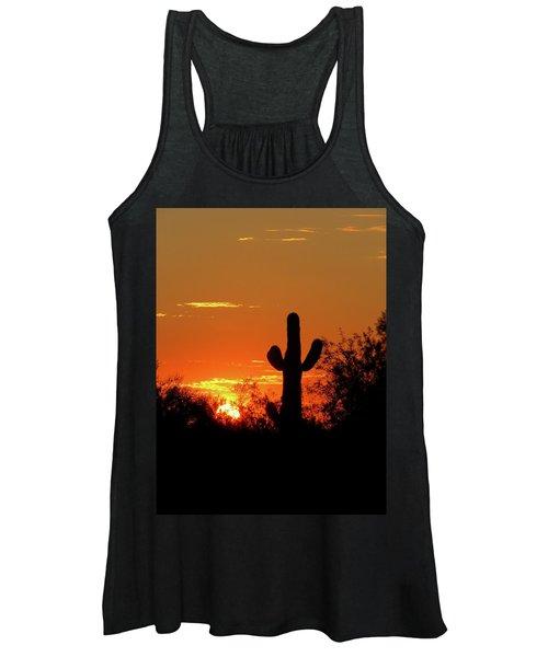 Lone Saguaro Sunrise Women's Tank Top