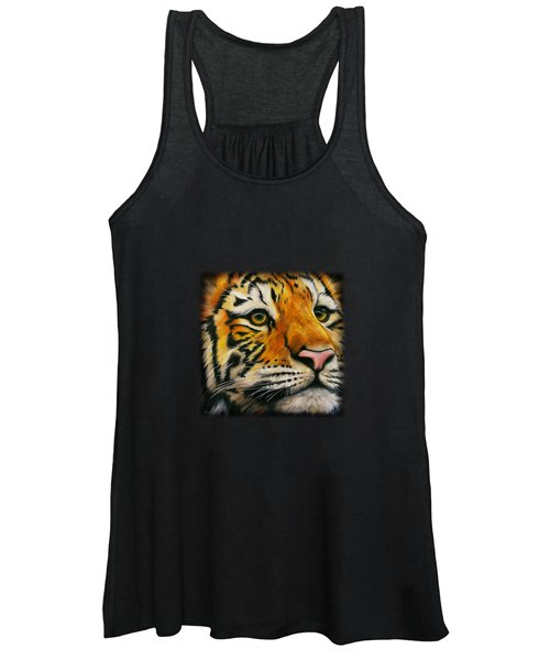 Lonely Tiger Women's Tank Top