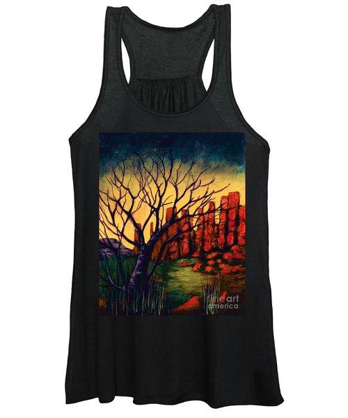 Lonesome Tree  Women's Tank Top