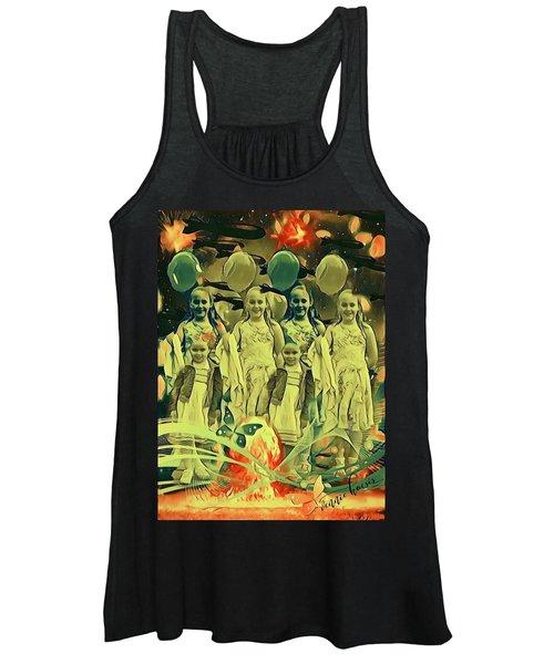 Love In The Age Of War Women's Tank Top