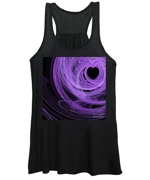 Love Swirls . Square . A120423.689 Women's Tank Top