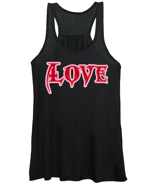 Love Text Women's Tank Top