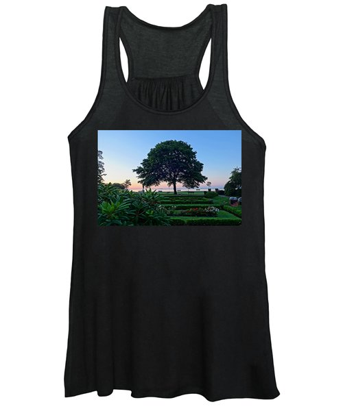 Lynch Park At Dawn Beverly Ma Women's Tank Top