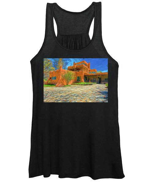 Mabel Dodge Luhan House As Oil Women's Tank Top