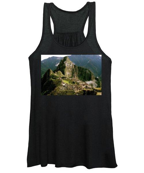 Machu Picchu At Sunrise Women's Tank Top