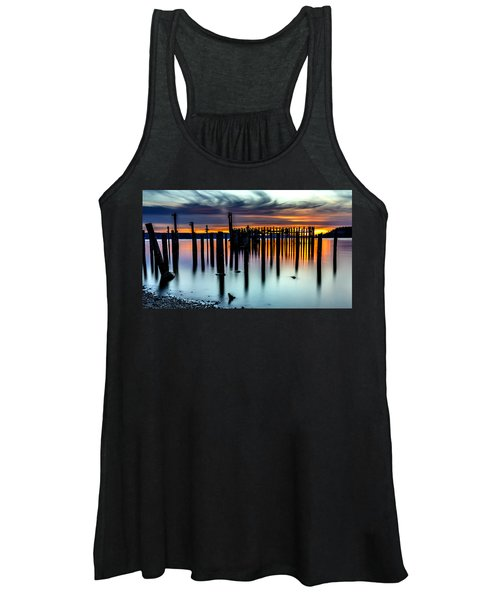 Magical Sunset Titlow Beach Tacoma Wa Women's Tank Top