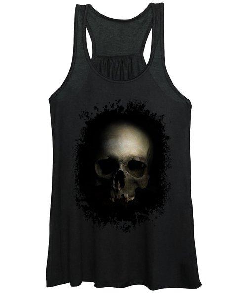 Male Skull Women's Tank Top