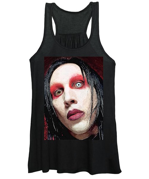 Marilyn Manson Women's Tank Top