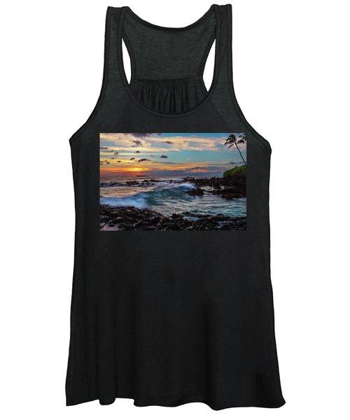 Maui Sunset At Secret Beach Women's Tank Top