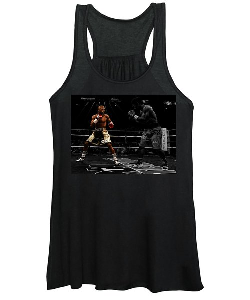 Mayweather And Pacquiao Women's Tank Top