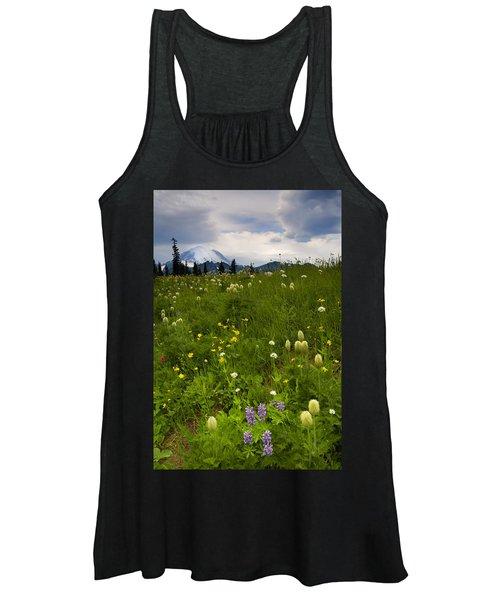 Meadow Beneath The Storm Women's Tank Top