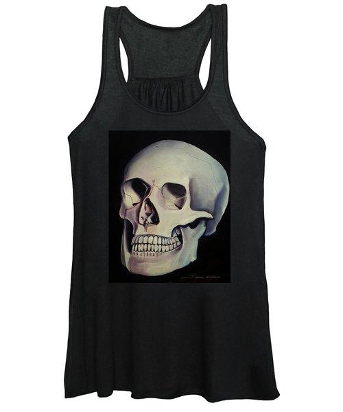 Medical Skull  Women's Tank Top