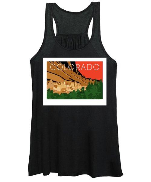 Mesa Verde Orange Women's Tank Top