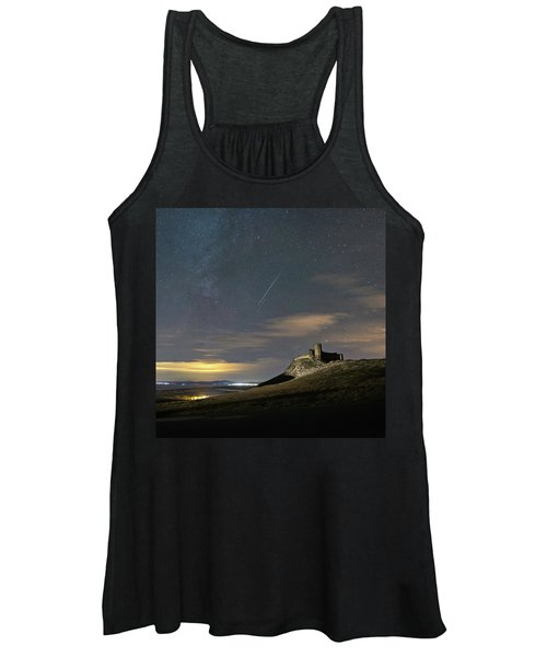 Meteors Above The Fortress Women's Tank Top