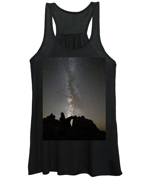 Milky Way Over Turret Arch Women's Tank Top