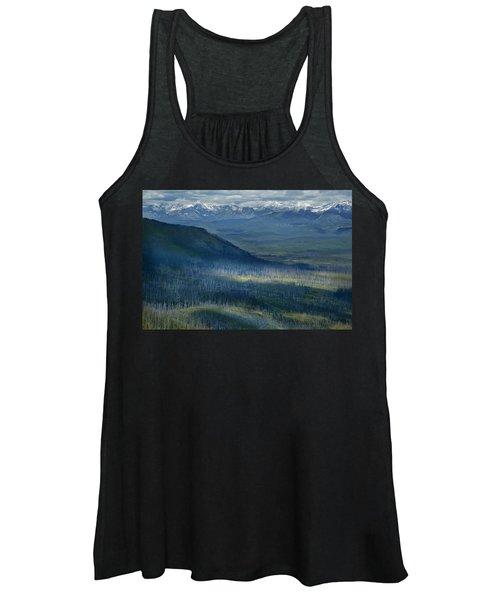 Montana Mountain Vista #3 Women's Tank Top