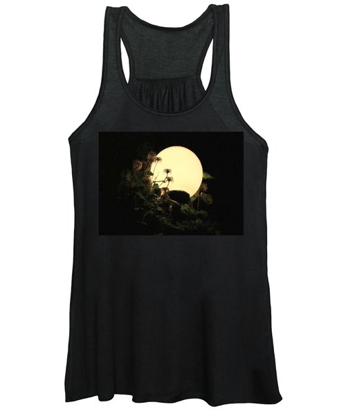 Moonglow Thistles Women's Tank Top